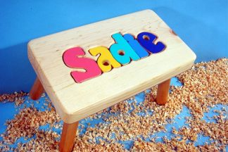 Personalized Puzzle Stools